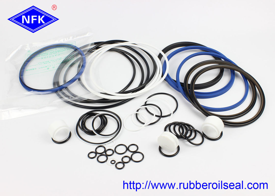 SB81 SOOSAN Hydraulic Breaker Seal Kit , NOK Pump Seal Kit Mechanical Style