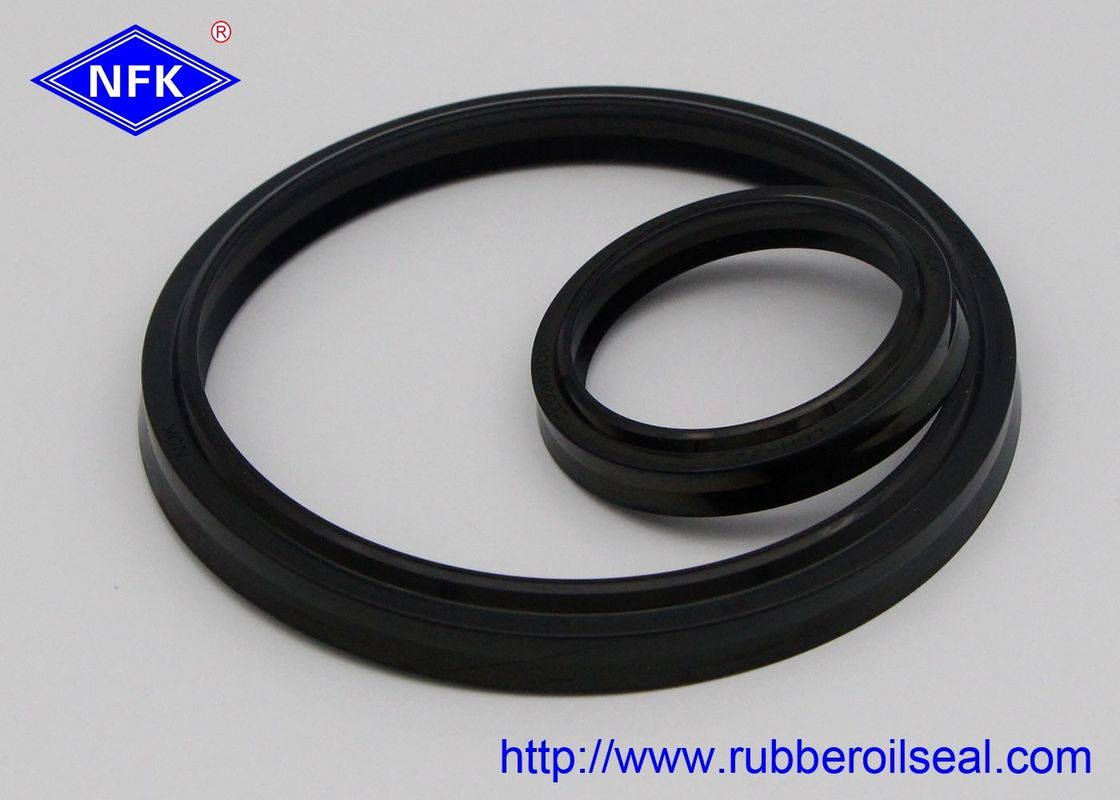 NBR Material Hydraulic Wiper Seals Black CL0087-C3 LBH With Enough Inventory