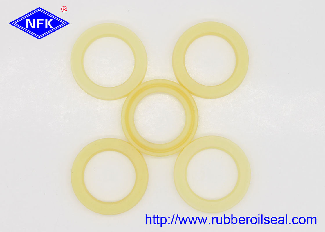 Yellow U801 Hydraulic Cylinder Rod Seal  FU0279-F0 IDI 25*35*6mm Size 35 Mpa Stress