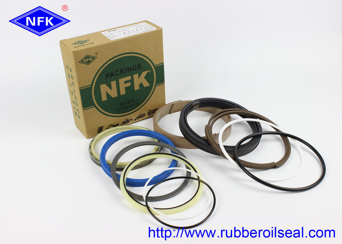 Wear Resistance Rubber Oil Seal HYUNDAI R305 Boom Arm Bucket Cylinder Repair Kit