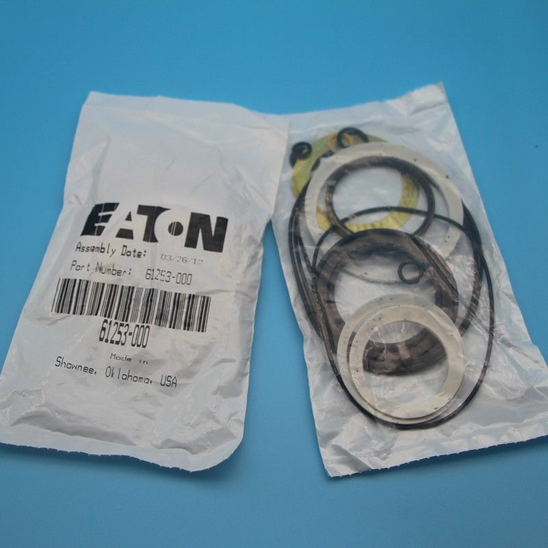 Rubber Power Steering Pump Seal Kit 35 MPa Pressure For Eaton Vickersn Excavator