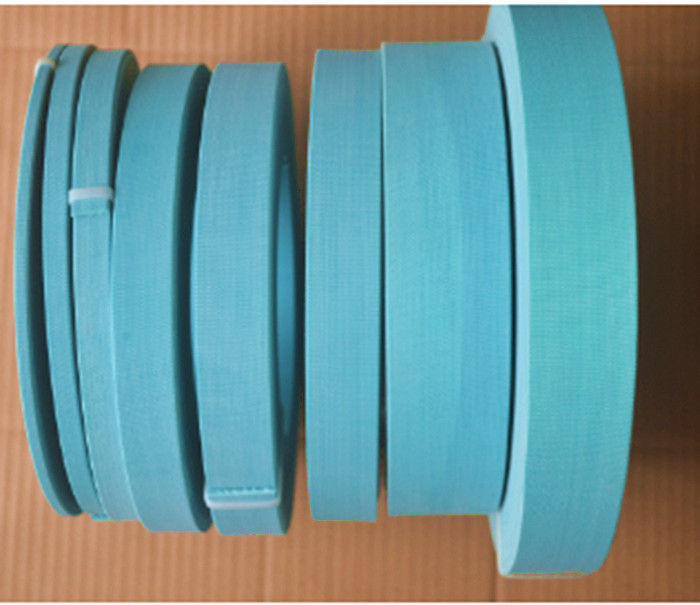 Polyurethane Wear Ring Seal , Pump Piston Wear Ring 35 Mpa Stress 2000mm Trip