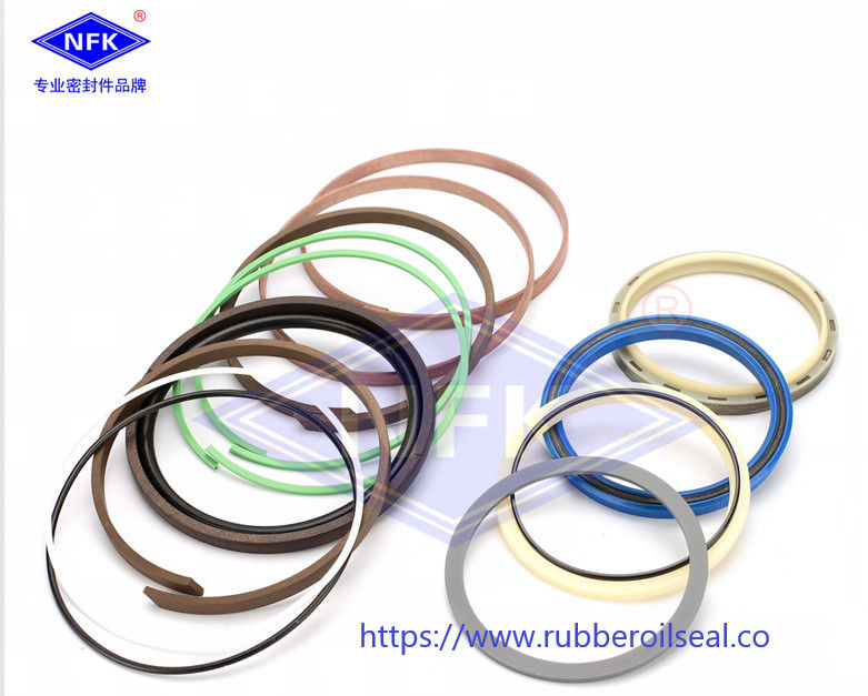 Kobelao SK250-6 Boom Bucket Arm Cylinder Repair Kit / SKF NOK Seal Ring